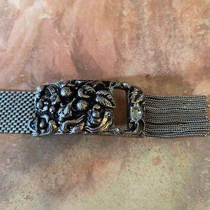 Extremely Vintage Silver Mesh Bracelet